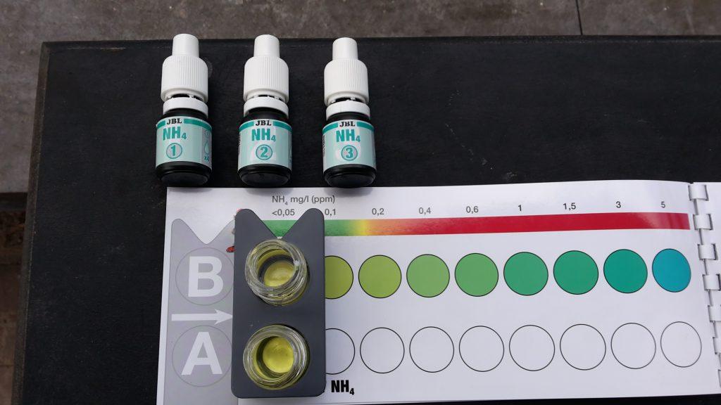 Adviesgroep Koi en vijver, water testen.