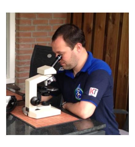 Microscopisch onderzoek naar parasieten