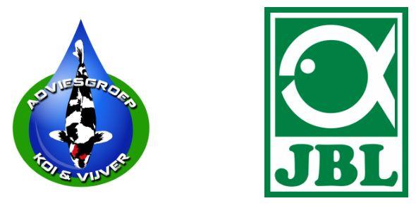Adviesgroep Koi en vijver start samenwerking met JBL