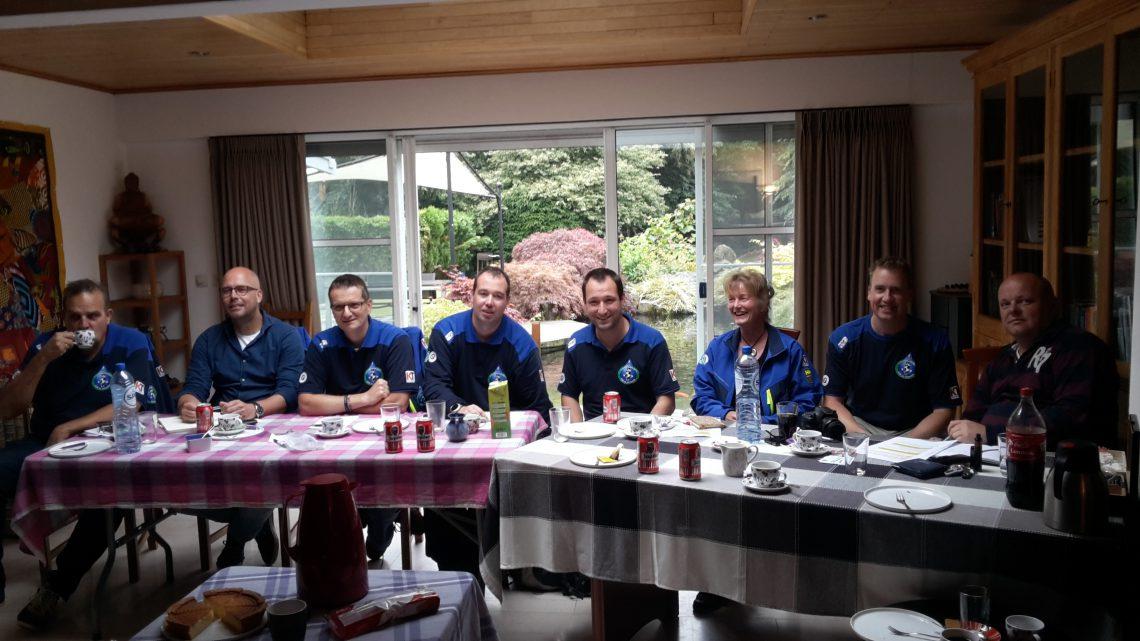 Adviesgroep Koi en vijver: op bezoek bij Maarten Lammens
