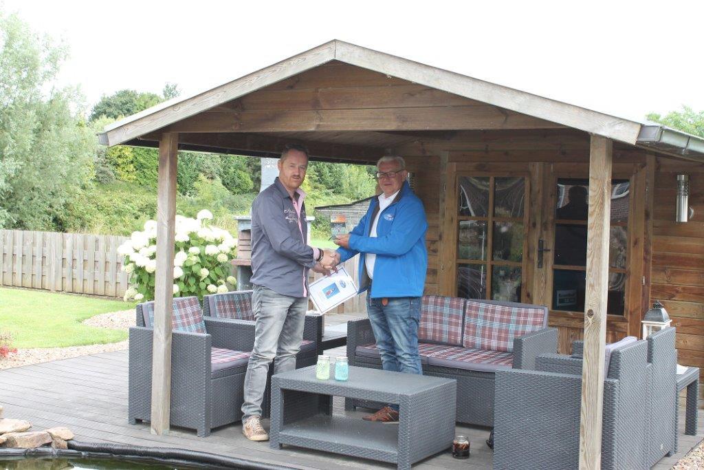 Adviseur Adviesgroep Koi en vijver: Henri wint award, juni 2017
